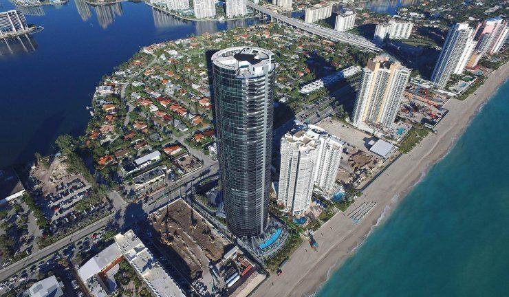 Porsche tower Miami for rent